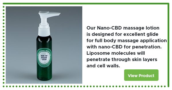 support your ECS with nano CBD product