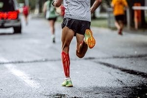 cbd & muscle recovering, man runnin