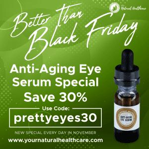 thirty days of thankfulness eye serum